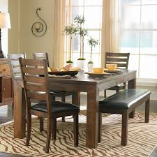 table with bench. dining table with bench o