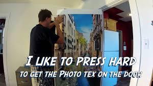 Door Wraps Door Wraps How To Install A Door Wrap Photo Tex Material Youtube