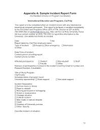 Natural Disaster Report Template Software Natural Disaster Report
