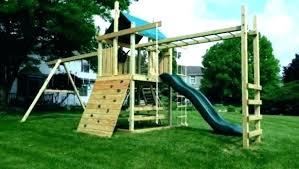kits wonderful outdoor plans free wood wooden swing set accessories diy playset kit diy playset