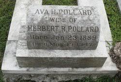 Ava Holland Pollard (1889-1947) - Find A Grave Memorial