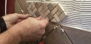 Installing Backsplash How To Install A Tile Backsplash How Tos Diy