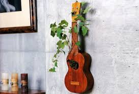 Small Picture creative ways to recycle old guitar into beautiful home dcor items