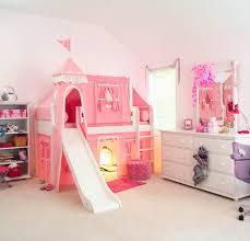 Princess Castle Bedroom Pink Princess Castle Bed With Slide By Maxtrix Kids 370