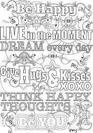 True Love Quotes Coloring Pages