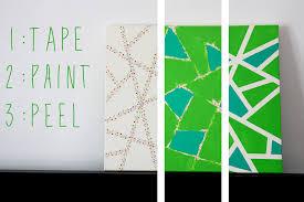 ideas easy wall art painting ideas