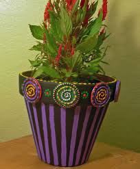 Pot Decoration Designs clay flower pot designs Design Decoration 79