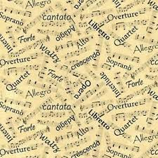music notes in words details about symphony suite blank quilting bty black musical notes words ivory b g