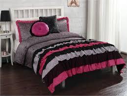 37 best girl bedroom images on Pinterest   Bed in a bag, Colors ... & French Ruffle Hot Pink & Black Animal Print BeddingTeen Girl Twin  Full/Queen Comforter Set Adamdwight.com