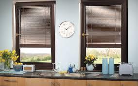Kitchen  Cool Kitchen Window Dressing Lowes Blinds Installation Best Blinds For Kitchen Windows