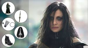 diy hela costume to become the evil queen