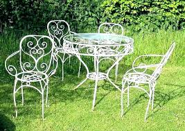 wrought iron outdoor chair cast patio furniture white chairs india