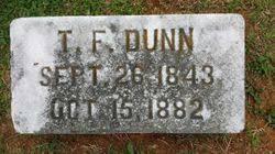 Thomas Franklin Dunn (1843 - 1882) - Genealogy