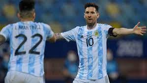 Argentina vs. Colombia score: Live ...