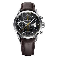 raymond weil mens watches beaverbrooks the jewellers raymond weil lancer automatic chronograph men s watch