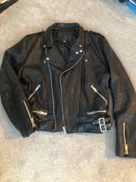 men s leather vintage motorcycle jacket