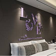 diy mirror wall lovely hot 3d mirror wall stickers e flower vase acrylic decal home diy