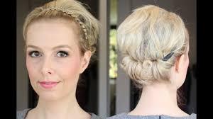 How To Gemakkelijk Opsteekkapsel Met Haarband Beautyloves