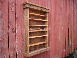 pallet whiskey rack. Barnwood Display Cabinet Shot Glass Rack Pallet Whiskey S