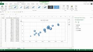 Creating A Bubble Chart In Excel 2010 How To Create A Bubble Chart In Excel