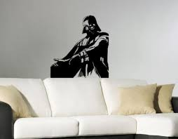 >darth vader star wars nursery room wall sticker decal wall art decor  darth vader star wars nursery room wall sticker decal wall art decor 22x35inch
