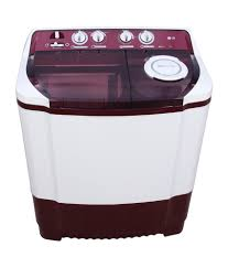 Largest Top Loading Washing Machine Lg P8239r3sbg 72 Kg Semi Automatic Top Loading Red Washing