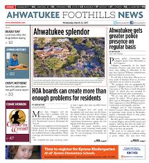 Ahwatukee Foothills News - March 8, 2017 by Times Media Group - issuu