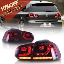 Mk6 Gti Brake Light Bulb Details About Led Tail Light W Sequential Indicator Red Smoke For Vw Golf 6 Mk6 Gti 2010 14