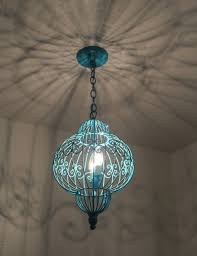 turquoise chandelier light fixture turquoise light fixture turquoise glass and chrome light