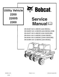 bobcat 2200 wiring diagram wiring diagram for you • bobcat 2200 2200s 2300 utility vehicle service manual pdf rh epcatalogs com kubota starter wiring diagram bobcat 2200 wiring diagram for a