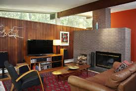 mid century modern furniture design ideas. mid century modern living room with fireplace furniture design ideas