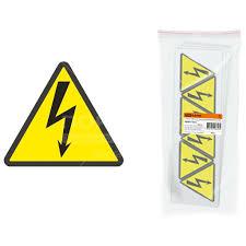 <b>Знак электробезопасности TDM</b> Electric SQ0817-0015 Молния ...