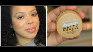 Maybelline Dream Matte Mousse Review Demo