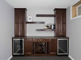 simple wooden wall mounted wine racks with glass storage design incredible home bar furniture brown polished