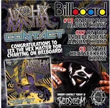 Lex The Hex Master Charts Majik Ninja Entertainment Australia