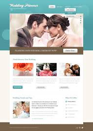 Wedding Planner Website Template 35945