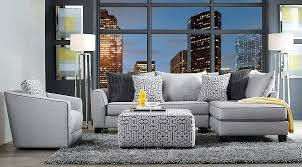gray and yellow living room decor landing living room set gray sofa set with blue and