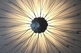 lighting pattern. pattern lamp light wire art design interior lighting l