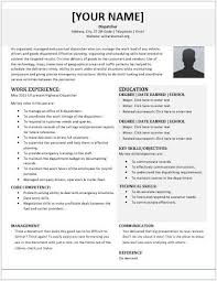 Dispatcher Resume Samples Dispatcher Resume Examples Mwb Online Co
