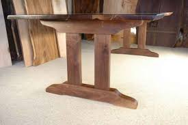 Pedestal desk leg ideas | Custom Rustic Table Bases Page 1 - Dumond's  Custom Furniture