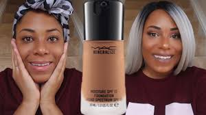 foundation review demo friday mac mineralize moisture spf 15 woc friendly