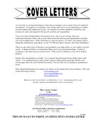 Cover Letter Template For Exampleneral Sample Middot Templates