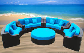 outdoor round sectional decorating inspiration loveseat chair patio couch modern round sofa lounge