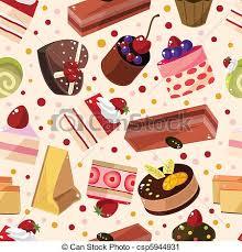 cake pattern wallpaper. Brilliant Pattern Seamless Cake Pattern  Csp5944931 In Cake Pattern Wallpaper