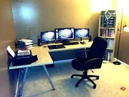 bestar hampton 1 drawer l shaped corner workstation computer desk best desks for gaming pertaining to