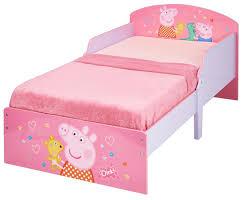 Peppa Pig Bedroom Furniture Peppa Pig Bed For Girls 70 X 140 Cm Bainbacom