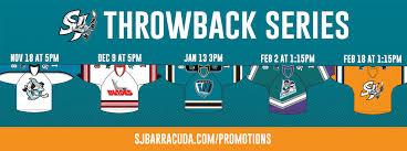 barracuda to honor sharks affiliate history