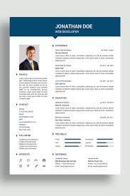 Jonathan Resume Template 69421