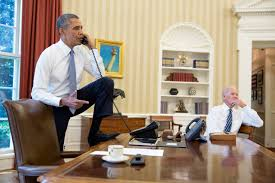 us president office. U.S. President Barack Obama (L) Talks On The Phone With Speaker Of House Us Office I