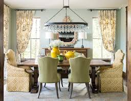 sherwin williams contented dining room mediterranean with rustic transitional flush